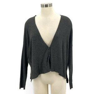 Eileen Fisher Cardigan Sweater Oversized Cropped